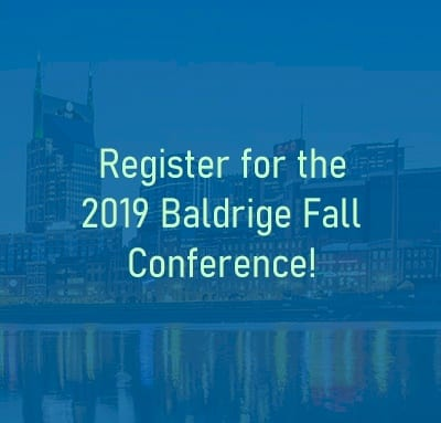 Baldrige Fall Conference 2019